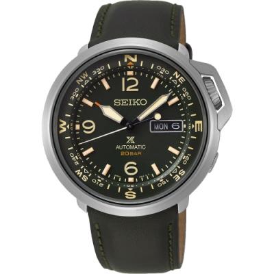 (無卡分期6期)SEIKO 精工 PROSPEX  陸 系列200米機械錶(SRPD33J1)