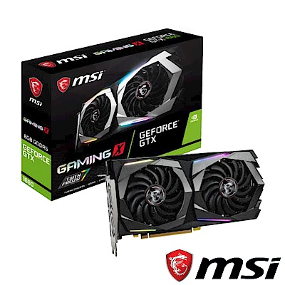 MSI微星 GeForce GTX 1660 GAMING X 6G顯示卡