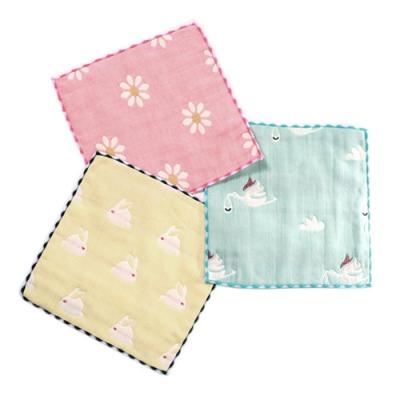 兒童紗布方巾(3條組) a70303 魔法Baby