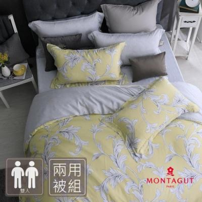 MONTAGUT-布留洛夫的浪漫-300織紗萊賽爾纖維-天絲-兩用被床包組(雙人)