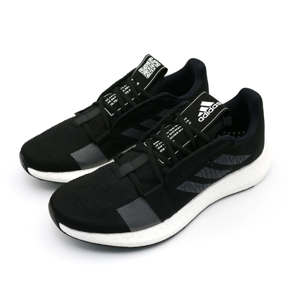 ADIDAS SenseBOOST男慢跑鞋-F33908 黑