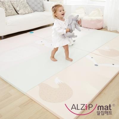 【ALZiPmat】韓國手工製 ZOO MAT 動物四折折疊墊 - 狐狸貓頭鷹