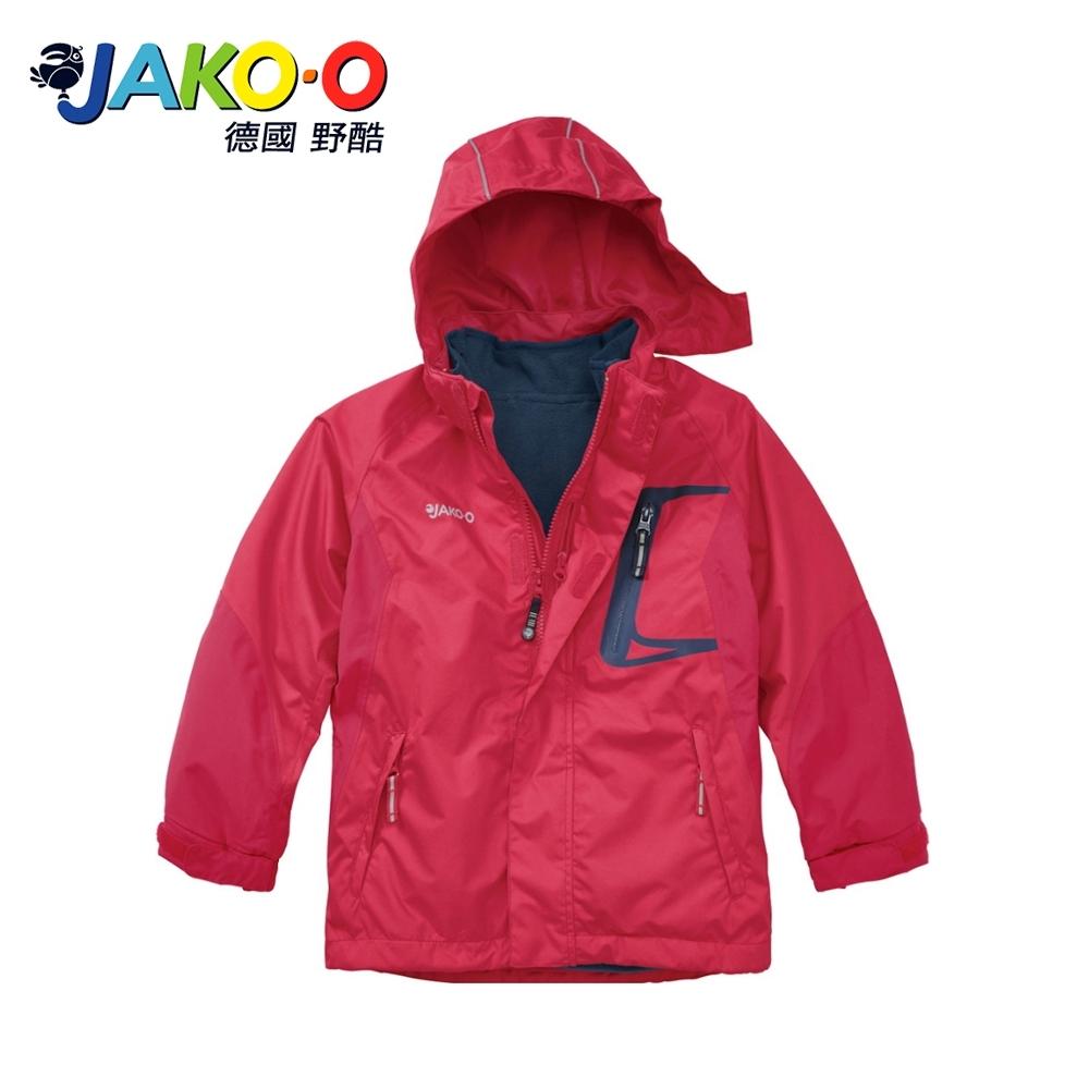 JAKO-O 德國野酷-兩件式雪衣外套-蘋果紅 兒童雪衣