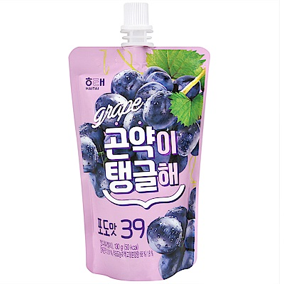 HAITAI 果凍飲便利包-葡萄風味(130g)