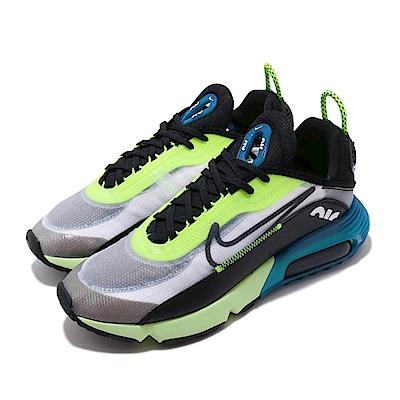 Nike 休閒鞋 Air Max 2090 運動 男鞋 氣墊 避震 舒適 未來之鞋 球鞋 穿搭 黑 綠 BV9977101