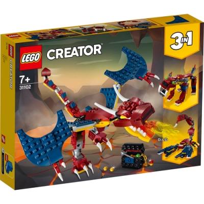 樂高LEGO 創意大師系列 - LT31102 火龍