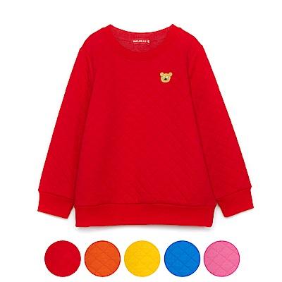 WHY AND 1/2 菱格紋夾棉T恤 11Y~14Y以上 多色可選