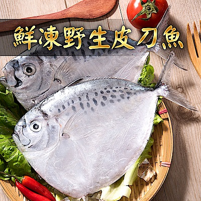 (任選)愛上新鮮-鮮凍野生皮刀魚2隻裝(190g±10%/隻)