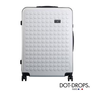 DOT-DROPS 28 吋 Chapter <b>2</b> 輕量客製點點硬殼行李箱 - 光芒白