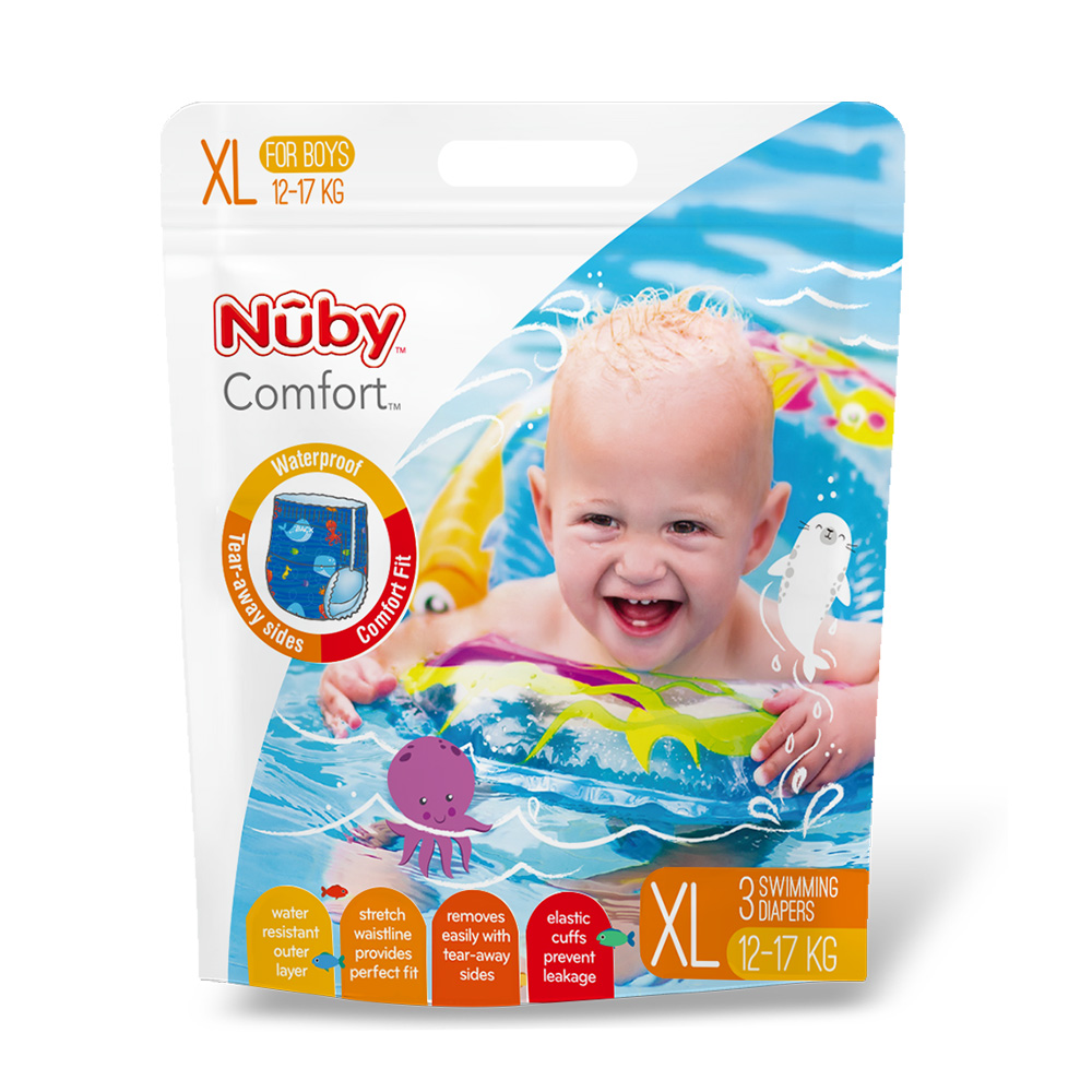 Nuby 游泳尿布(男XL) product image 1