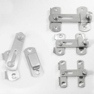 HE014 不鏽鋼打掛鎖 門栓/門閂/掛扣/門扣/門止/門鎖  閂長100mm 大號