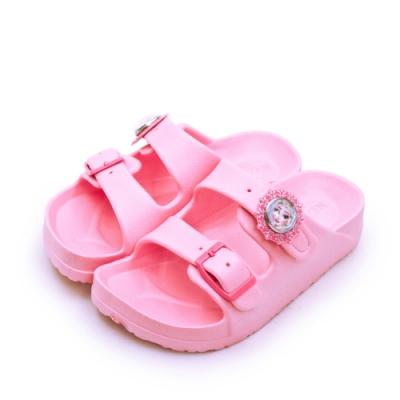 Disney 迪士尼 冰雪奇緣 FROZEN 輕量兒童拖鞋 粉紅 94003