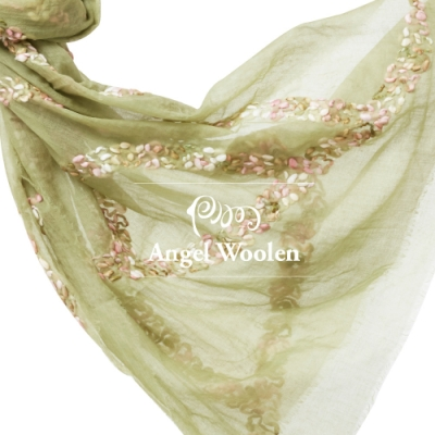 【ANGEL WOOLEN】織藤印度羊毛披肩(共五色)