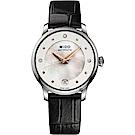 MIDO 美度 BARONCELLI  永恆系列套錶組-珍珠貝x黑錶帶