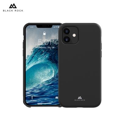 德國 Black Rock 液態矽膠抗摔保護殼-iPhone 12 Mini (5.4 )-黑