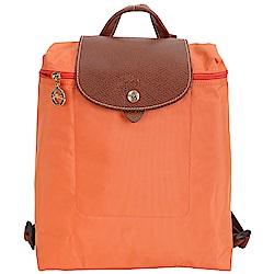 LONGCHAMP Le pliage 尼龍折疊後背包(赤橙色)