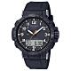 CASIO 卡西歐 PRO TREK太陽能電波手錶PRW-50Y-1A-黑/50.5mm product thumbnail 1