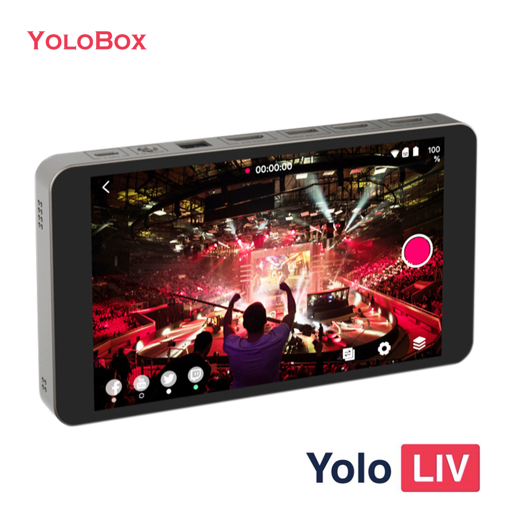 YoloBox 4G Encoder 掌上直播間 LIV Create Smart