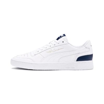 PUMA-Ralph Sampson Lo 男性復古籃球運動鞋-白色