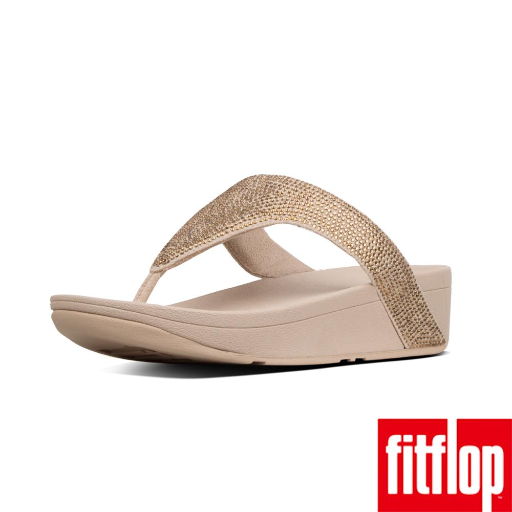 FitFlop LOTTIE夾腳涼鞋黃金色