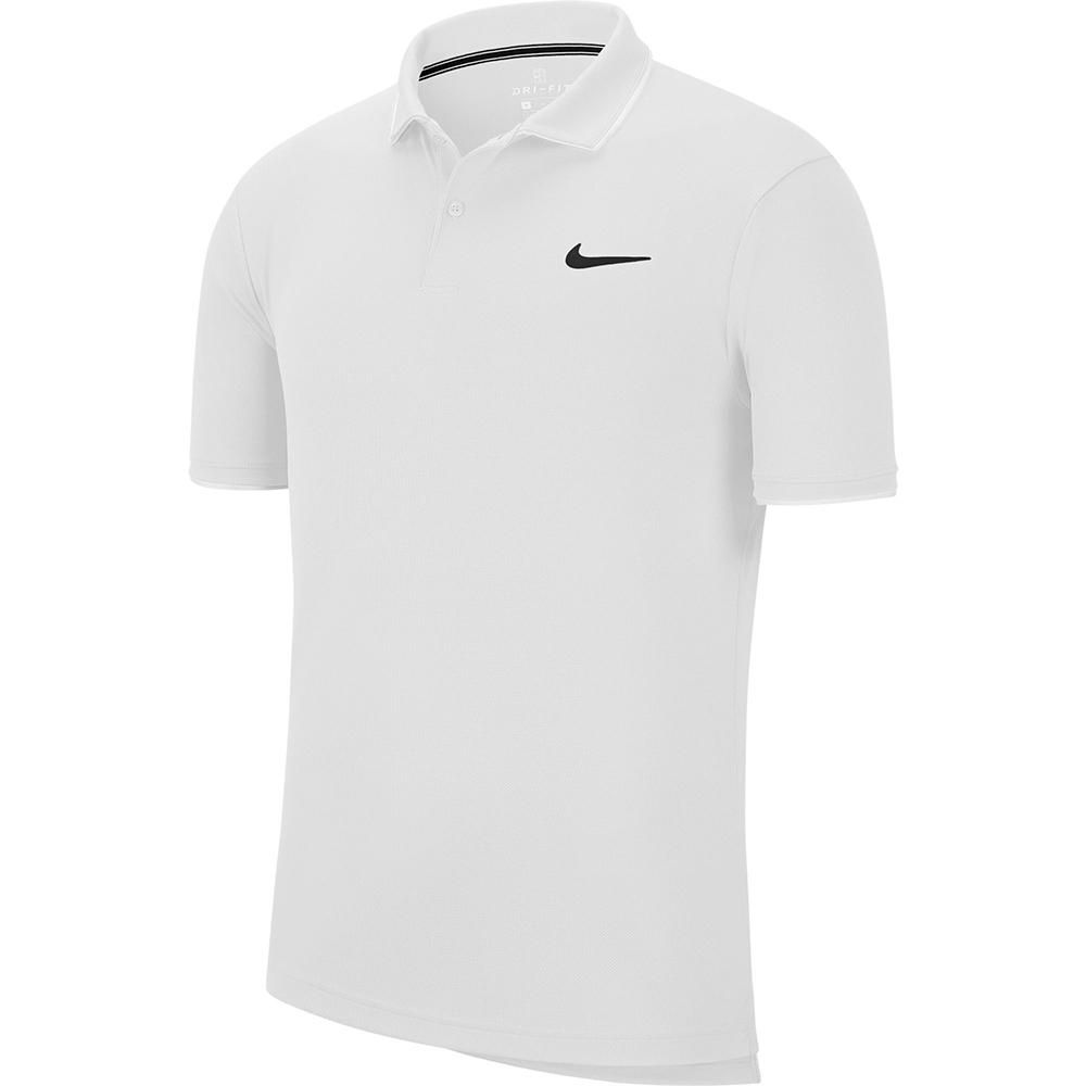 NIKE  短袖上衣 POLO衫 運動 慢跑 男款 白 939138100
