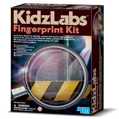 4M指紋密碼戰Detective Science-Fingerprint 00-03248