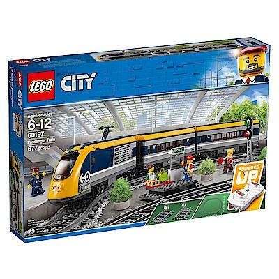 【LEGO樂高】城市系列 60197 客運列車