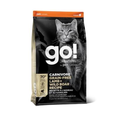 Go! 牧羊野豬 70% 高肉量 16磅 全貓 無穀天然糧