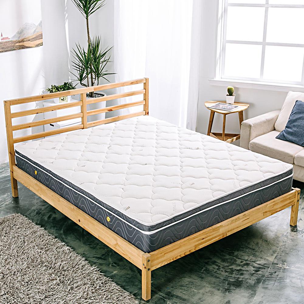 AVIS 艾維斯 傾城之戀天絲三線獨立筒床墊-單人3.5尺