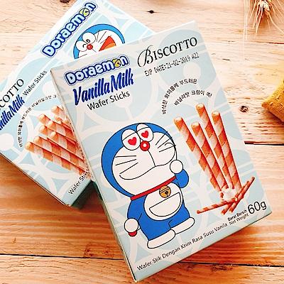 Doraemon 牛奶風味捲心酥(60g)