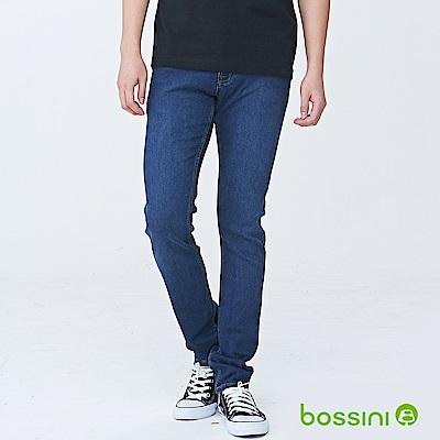 bossini男裝-合身牛仔褲02深靛藍