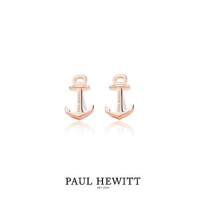 PAUL HEWITT 船錨耳環 (玫瑰金)