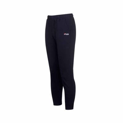 FILA 針織長褲-黑色 1PNU-5508-BK