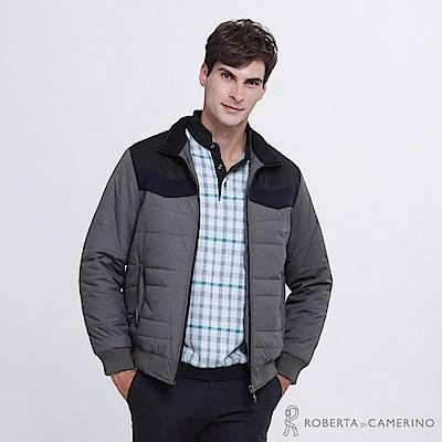 ROBERTA諾貝達 帥氣型男 內裡鋪棉夾克外套ROE65-98灰色