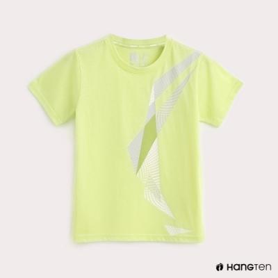 Hang Ten-ThermoContro-童裝幾何機能T恤-蕭青陽設計款-綠