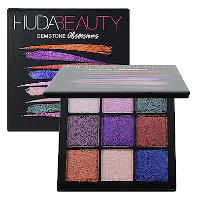 Huda Beauty 痴迷系列9色眼影盤 #Gemstone 10g