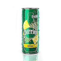 沛綠雅氣泡天然礦泉水-檸檬口味 330mlx24入