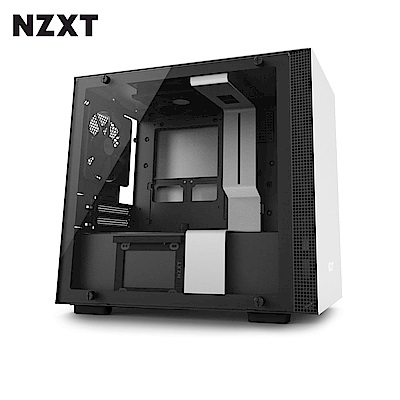 NZXT恩傑 H200 MINI-ITX 電腦機殼/鋼化側透玻璃-白