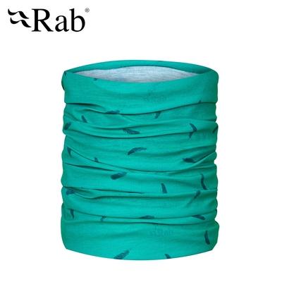 【英國RAB】Rab Tube 多功能運動圍巾 孔雀綠 #QAA49