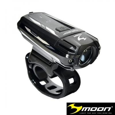 MOON METEOR 400流明8模式IPX4防水高亮度白光單車前燈