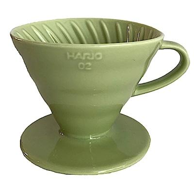 HARIO V60萊姆綠02彩虹磁石濾杯 VDC-02-LG-TW