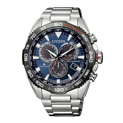 CITIZEN 星辰 PROMASTER準確時刻電波光動能腕錶(CB5034-82L)