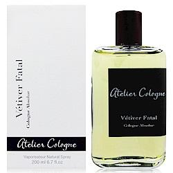 Atelier Cologne Vetiver Fatal忘情岩蘭香水200ml 法國進口