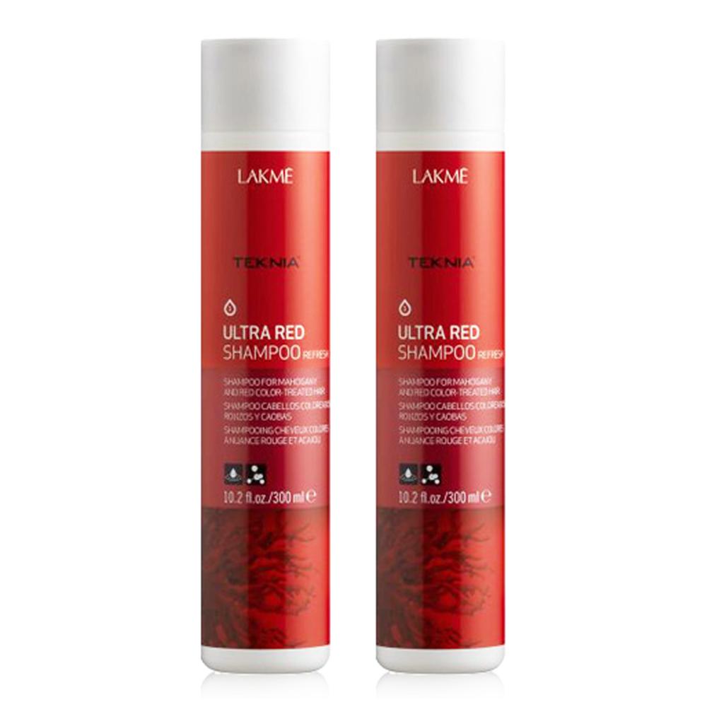 LAKME萊肯 豔紅 洗髮精 300ML (2入)