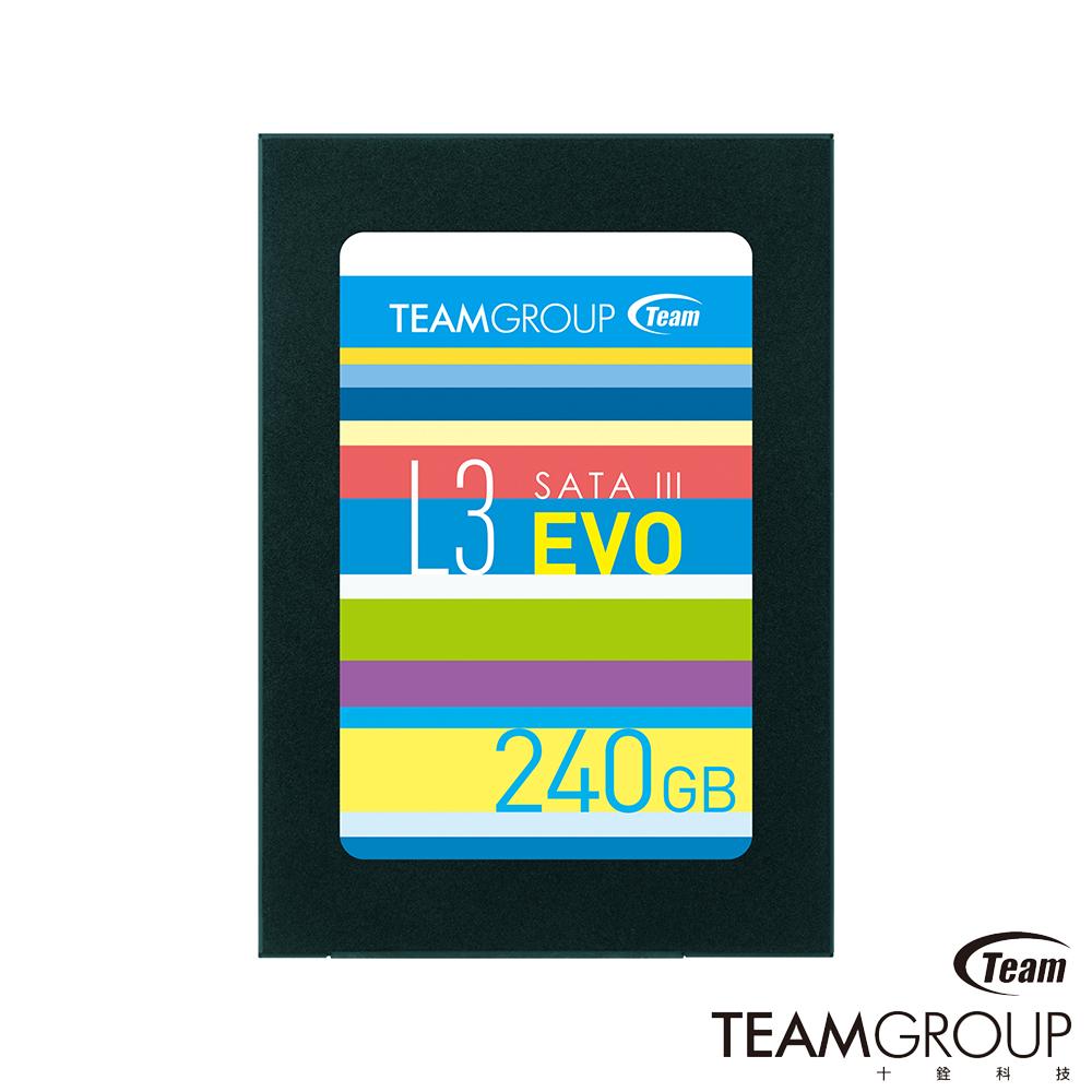 TEAM十銓 Ultra L3 EVO 240G 固態硬碟