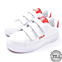 FILA女款韓版  厚底黏扣鞋 休閒鞋 5-C601S-200