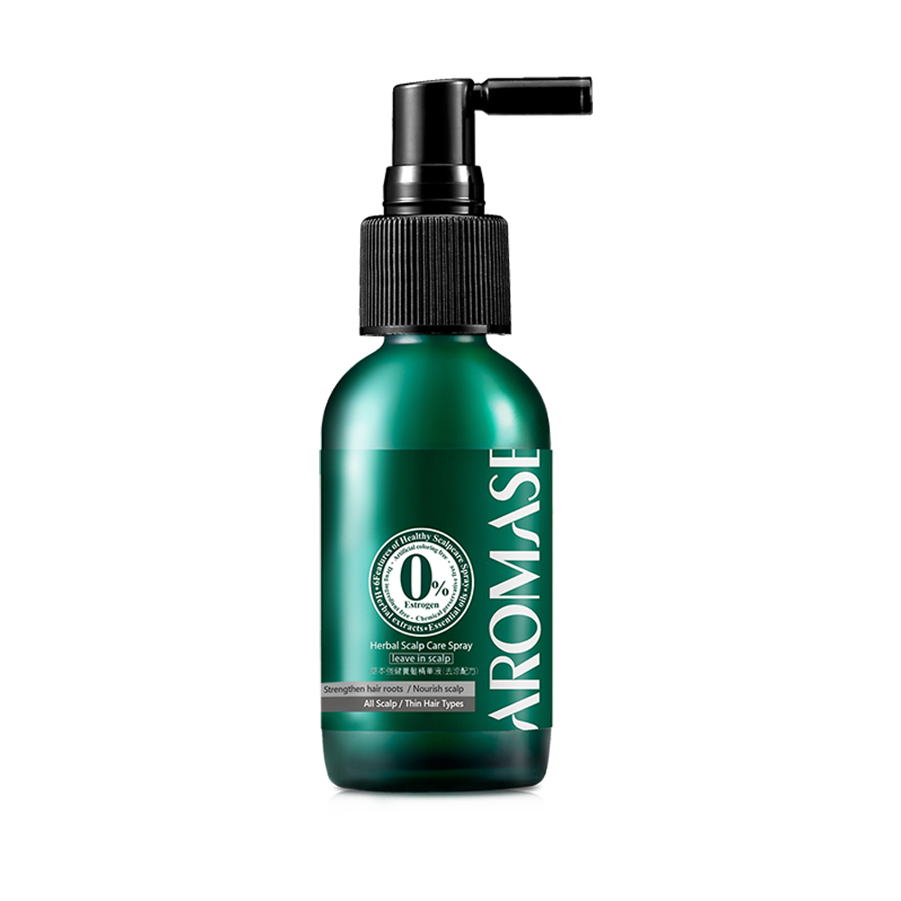 AROMASE艾瑪絲-乾敏款 草本強健養髮精華液40mL-去涼配方