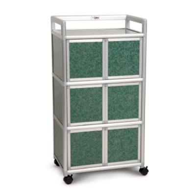 Cabini小飛象-花崗綠1.8尺鋁合金6門收納櫃60.4x41.1x115.3cm