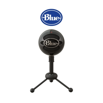 美國Blue Snowball 雪球USB麥克風 (炫黑)