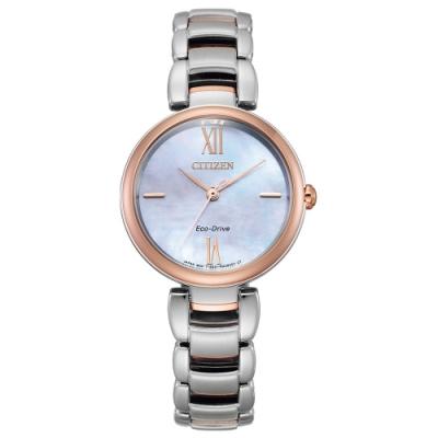 CITIZEN L系列璀璨光動能時尚腕錶EM0536-84Y